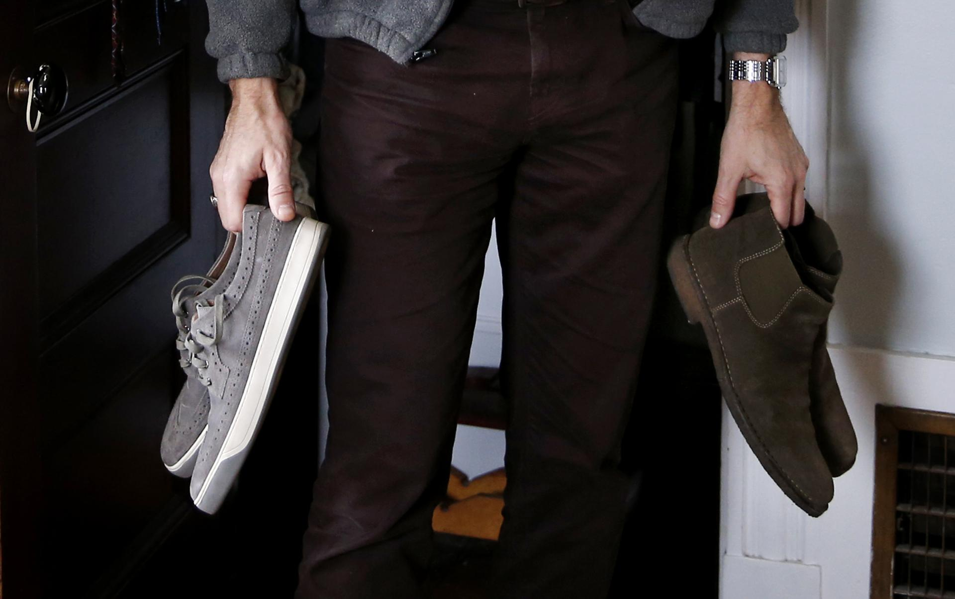 Stepping Up Their Game Men S Shoes Get A Makeover The Boston Globe