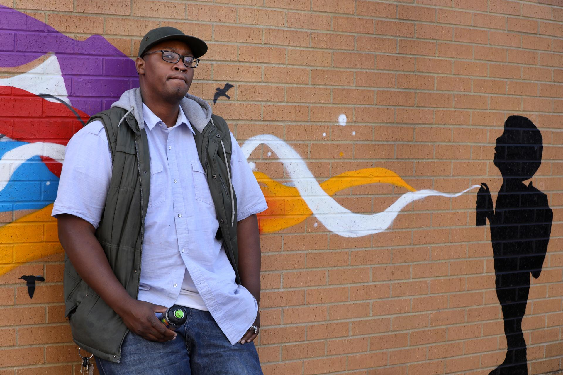Boston's street art is hitting a growth spurt. Here's the man behind it.
