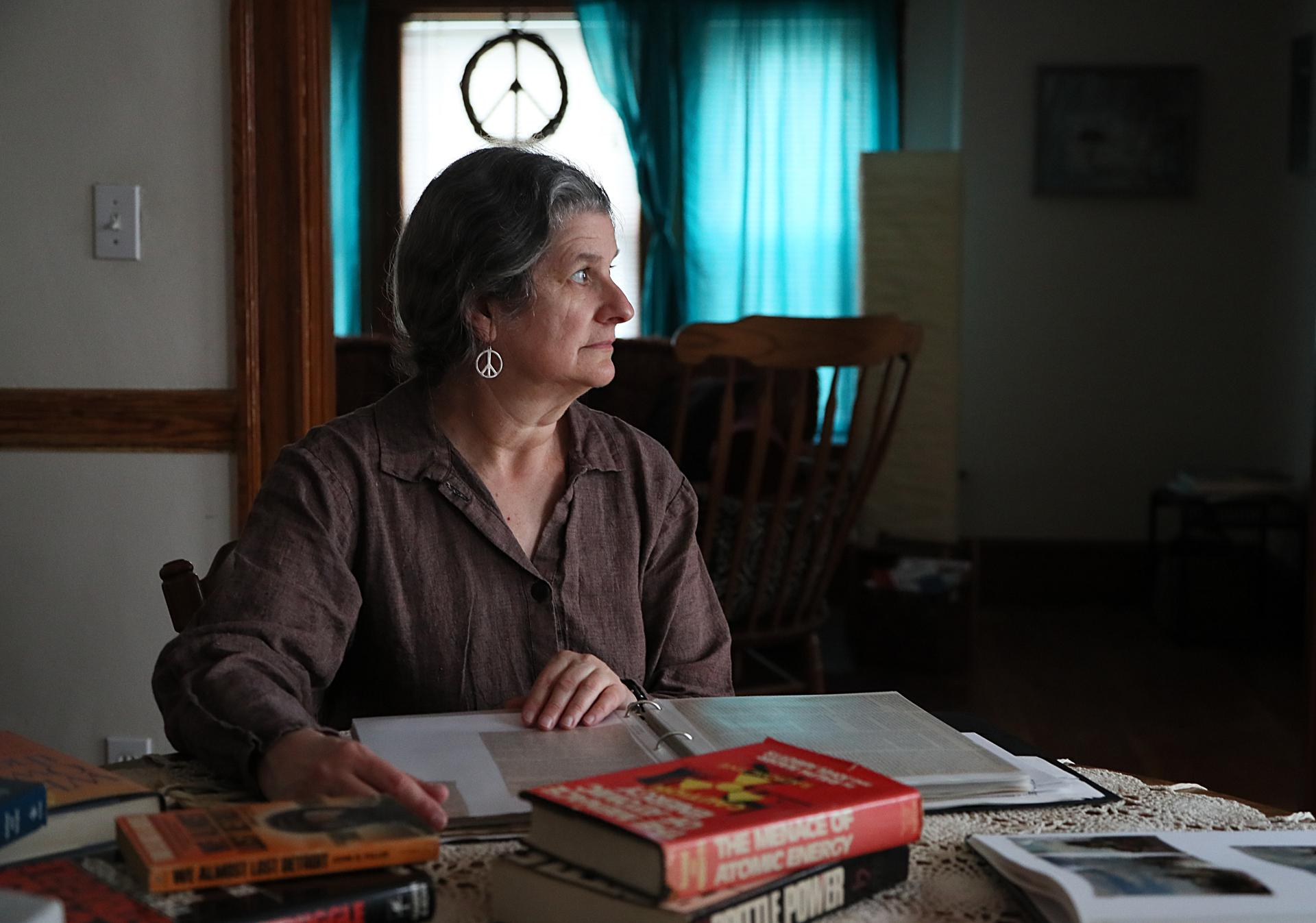 Thea Paneth participated in the landmark protests 40 years ago against the Seabrook nuclear power plant.
