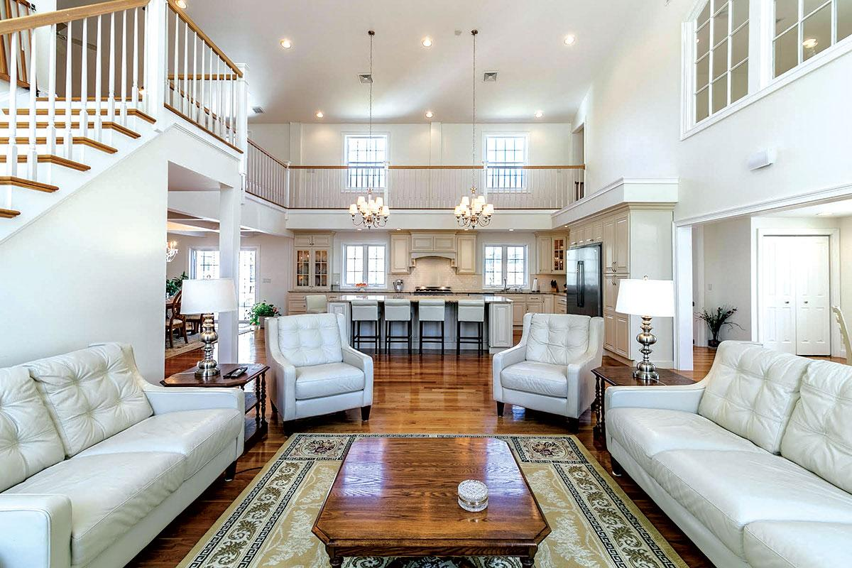 for sale homes on the south coast the boston globe a dining area slider leads to a deck two nearby bedrooms including the master feature private baths a third level holds a lofted family room laundry