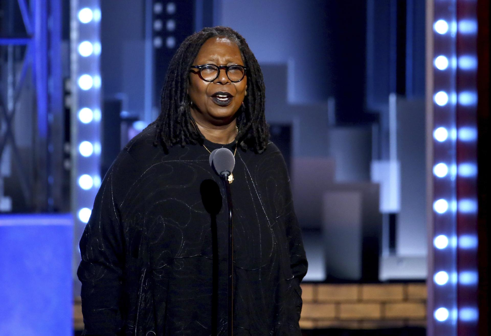 Whoopi Goldberg Performs At The 71st Annual Tony Awards On Sunday, June 11,  2017