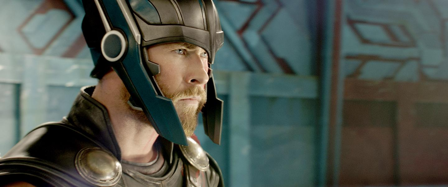 Thor (Chris Hemsworth) in the 2017 film THOR: RAGNAROK, directed by Taika Waititi. Ph: Teaser Film Frame..(c)Marvel Studios 2017