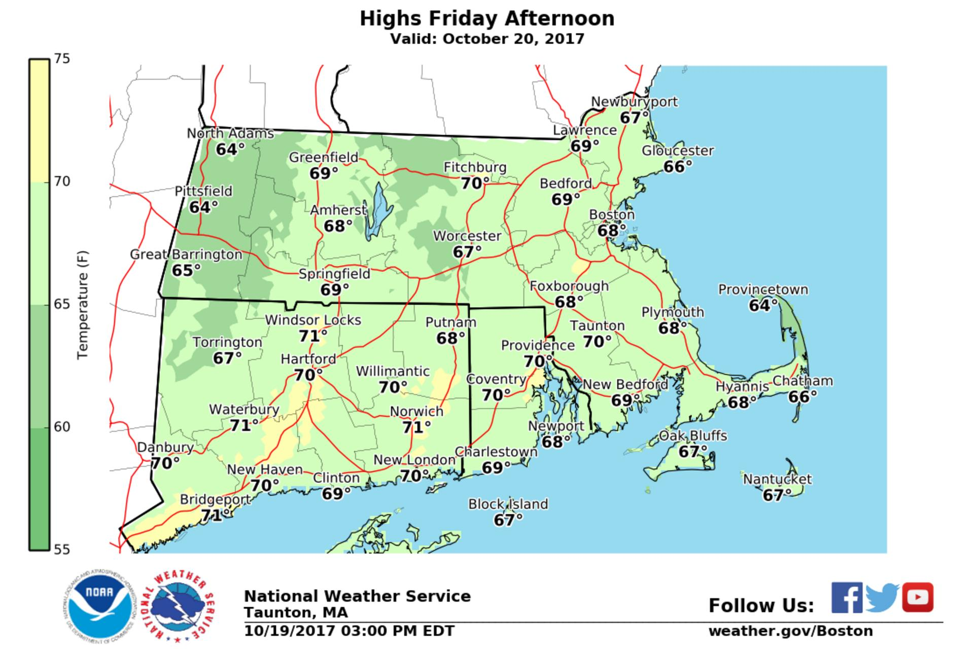 Weekend Weather Forecast Is Looking Good The Boston Globe - Us weather map weekend