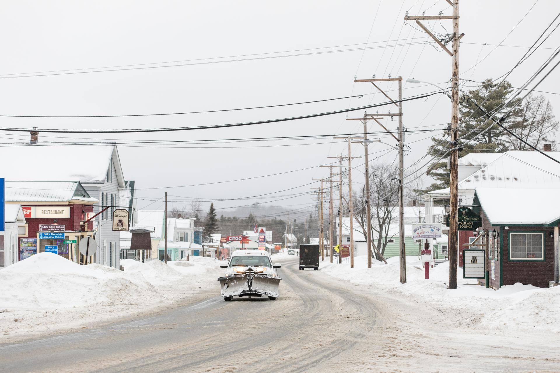 Route 201 passes right through the heart of Jackman, Maine. This week, the town gained national attention as Town Manager Tom Kawczynski's white nationalist views became public.