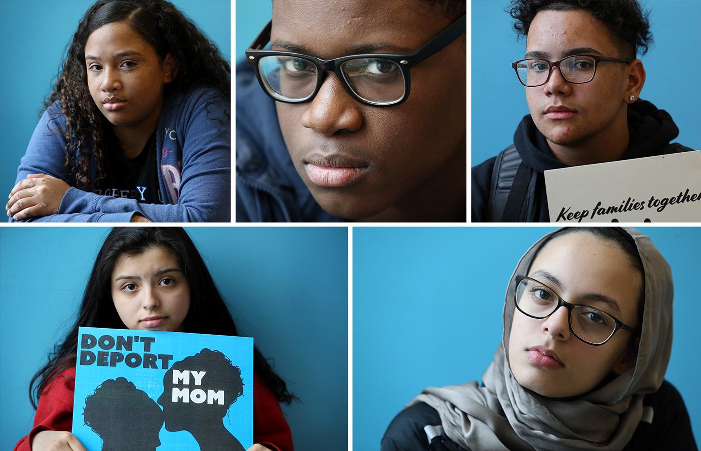 FOR ONLINE: Student Protest story. (Craig F. Walker/Globe Staff)