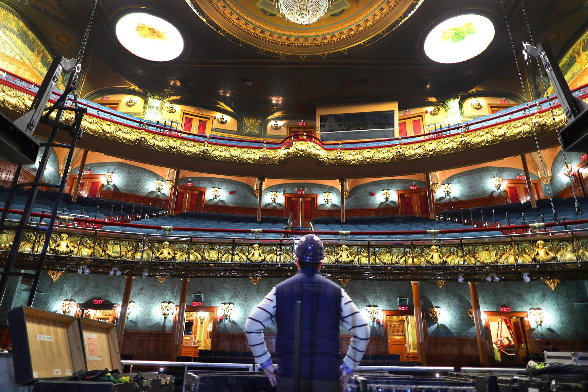 Extensive renovations have been made to the Emerson Colonial Theatre, which will open June 27.