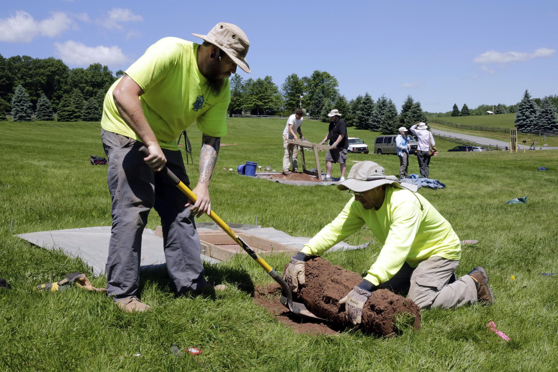 a41b97654b5 Archeologists started a new dig at the site of the original Woodstock Music  and Art Fair