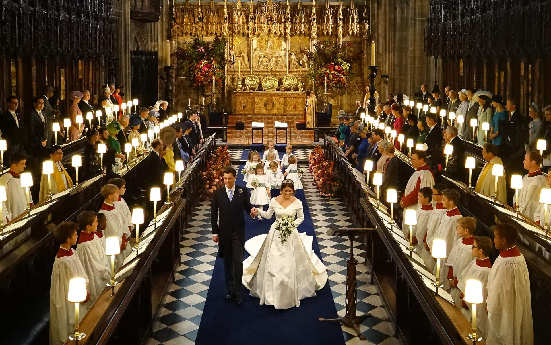 Another Royal Wedding For Britain As Princess Eugenie Weds The