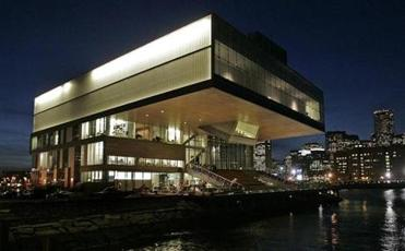 The ICA on the Boston waterfront.