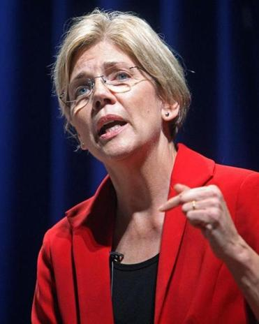 Elizabeth Warren spoke during the  first debate between the six candidates in the Massachusetts Democratic US Senate primary race held in Durgin Hall on the campus of UMASS-Lowell on October 4, 2011.