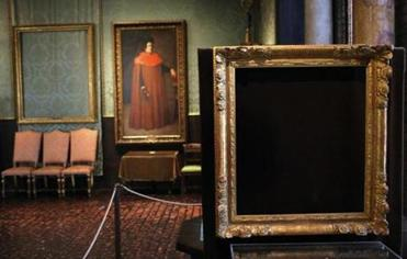 Paintings stolen from the Isabella Stewart Gardner Museum are still missing. It is yet another Boston puzzle to be solved.