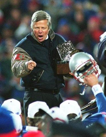 The Patriots defeated the Jaguars on Jan. 12, 1997 to reach the first Super Bowl of Robert Kraft's ownership.