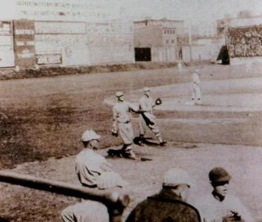 Duffy's Cliff in left field of Fenway Park's original layout got its name from Duffy Lewis, the Red Sox' left fielder in 1912.