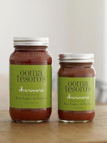 ** warning: for less than 1.5 col ** for Food - 25shsauce - Ooma Tesoro's sauce. (Wendell Webber)