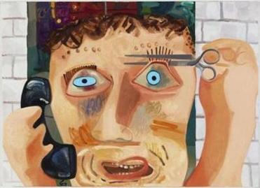 """Talk Talk'' by Dana Schutz"