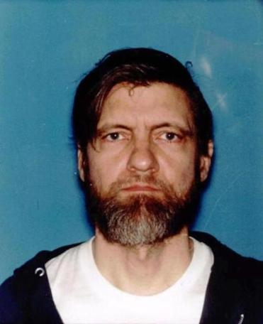 Ted Kaczynski, shown in this 1994 Montana drivers license photo.