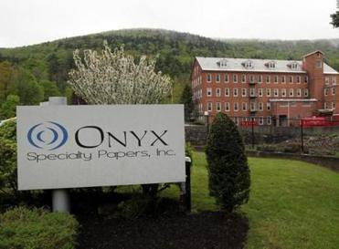 Onyx Specialty Papers in South Lee estimates it will cut its annual fuel costs in half when it completes a conversion from oil to natural gas, helping to keep it competitive.