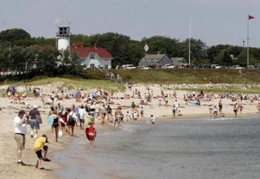 Chatham Light Beach is a busy and favorite summer spot, and it is open year round.