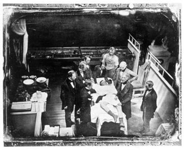Ether as anesthesia was pioneered at Massachusetts General Hospital.