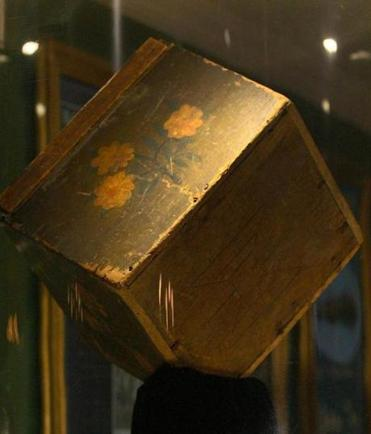 Boston Tea Party Museum And Old South Meeting House Unveil Rare Tea Chest  Artifact   The Boston Globe