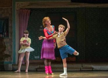 noah parets of sharon dances in billy elliot the musical the noah parets as billy janet dickinson as mrs wilkinson and samantha blaire cutler