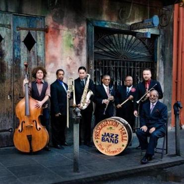 Members of the Preservation Hall Jazz Band of New Orleans are excited to play with other performers at the festival.