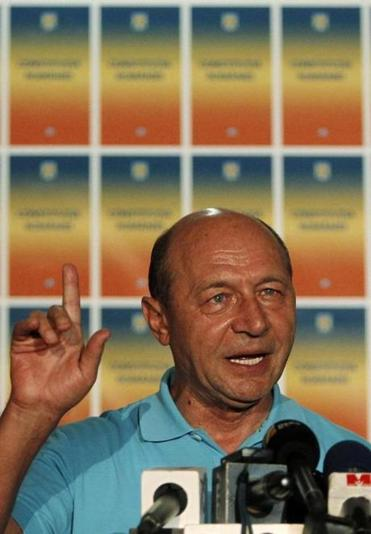 "Romanians ""invalidated the referendum by not participating,'' according to President Traian Basescu."