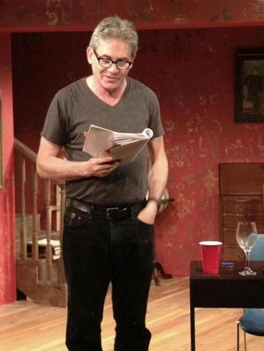 "Jeff Zinn in ""The Agony and the Ecstasy of Mike Daisey'' in Wellfleet."