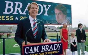 "Will Ferrell as Cam Brady in a scene from ""The Campaign."""