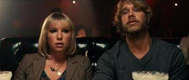 "Ari Graynor with Eric Christian Olsen in ""Celeste and Jesse Forever."""