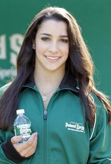 Aly Raisman's partnership with Poland Spring is her first major endorsement deal since the Olympics.