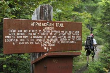 Monson, Maine, is located near the Appalachian Trail's most remote section, making the town crucial for thru-hikers.