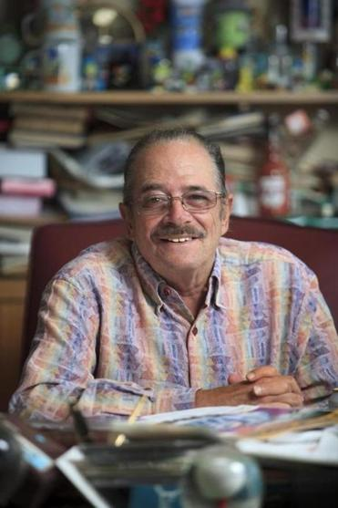 Stephen Mindich, pictured in the Boston Phoenix offices.
