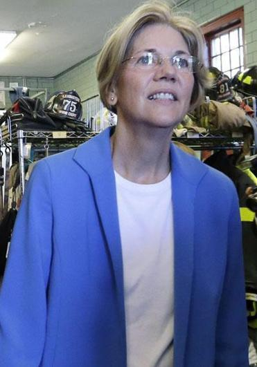 The pressure on Elizabeth Warren to shift her media strategy comes as Democrats, including some in Washington, have become worried that her commercials give off an unappealing image.