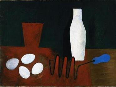 "Willem de Kooning's ""Still Life With Eggs and Potato Masher."""