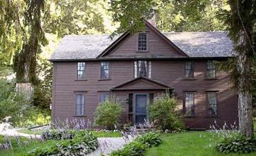 Louisa May Alcott's Orchard House.