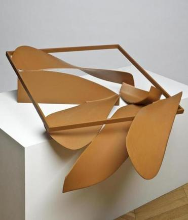 Anthony Caro's work is on display at the Yale Center for British Art.