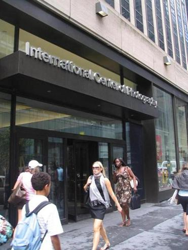 The International Center of Photography, located in Midtown.