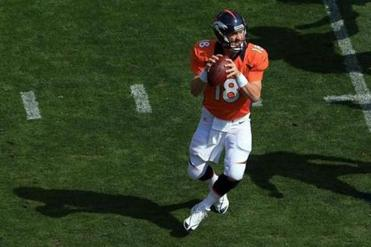 Long the quarterback of the Colts, Peyton Manning will be leading the Broncos on Sunday.