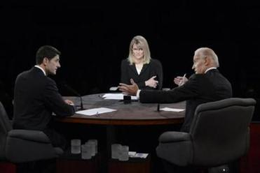 ABC's Martha Raddatz made her presence known as moderator during the Biden-Ryan debate: She interrupted repeatedly and pressed for answers.