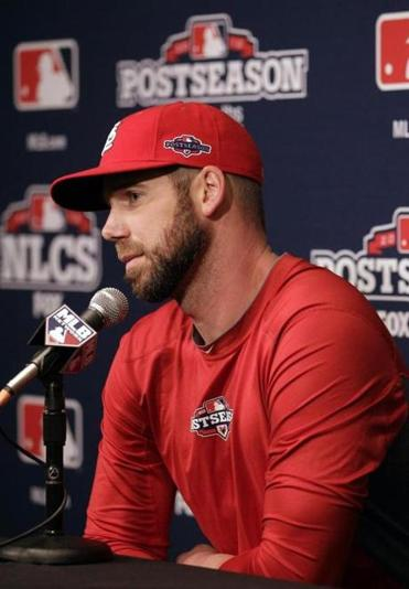 Chris Carpenter, slated to start Game 6 of the NLCS, has been with the Cardinals so long he knows their ways.