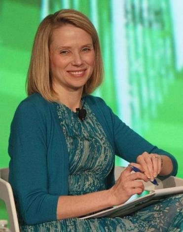 Yahoo hired Marissa Mayer away from rival Google in mid July.