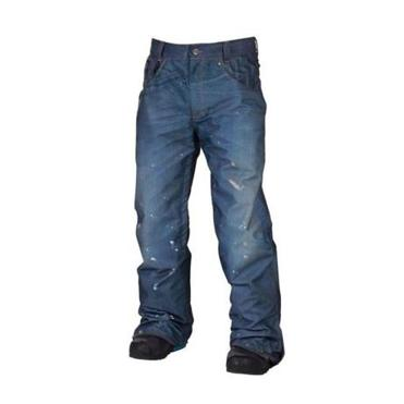 Street to Snow: 686 LTD Destructed Denim