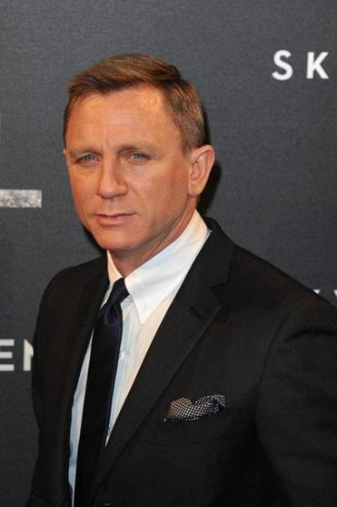 "Daniel Craig at the premiere of ""Skyfall"" in 2012."