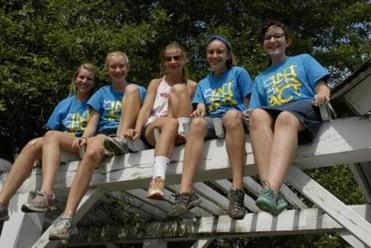 From left: Libby Cornacchio, Maggie Brown, Britta Galanis, Ellie Dolan and Mara Tzizik.