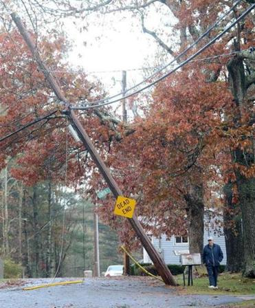 Some of the damage wrought by Hurricane Sandy when it hit Westport.