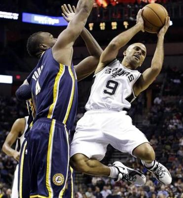 The Spurs' Tony Parker finished with 6 points, 7 assists, and only 1 turnover.