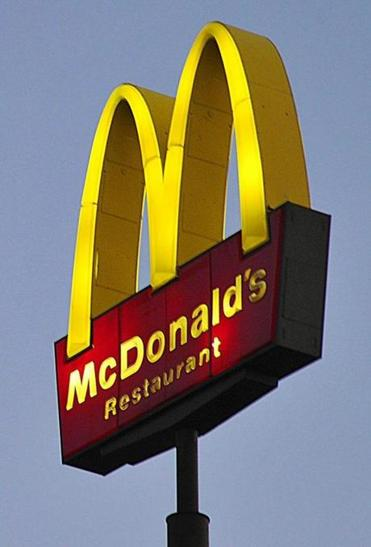 McDonald's stock fell 2 percent to $85.13 Thursday after the sales report.