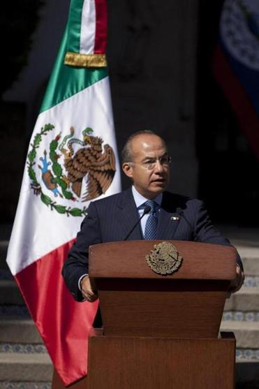 Mexico President Felipe Calderon called marijuana legalization by US states ''a paradigm change on the part of those entities in respect to the current international system.''