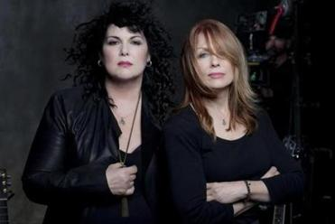 Ann & Nancy Wilson of the band, Heart